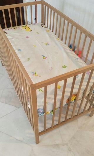 宜家婴儿床 IKEA BABY bed