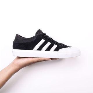 Adidas matchcourt skateboarding black white
