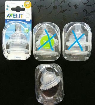 #MRTPunggol Brand New Philips Avent Teats Classic Stage 2