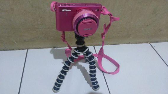 NIKON 1 J2 pink cantik limited edition dan termurahh