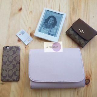H&M Slingbag / Clutch Baby Pink