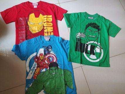 Marvel Tops (5-6 years old)