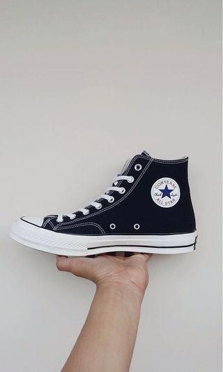 Converse Ct as 70s high black white