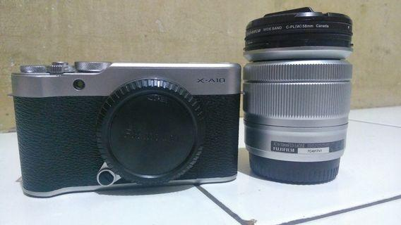 Fujifilm X-A10 like new siap jepret and vlog