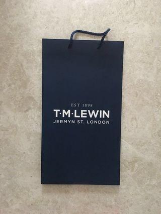 🚚 BN TM Lewin Paper Bag