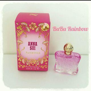 香港帶回 Anna Sui Romantica安娜花園女性淡香水 4ml 小香水 香精