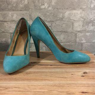 Tiffany Blue Aldo Heels