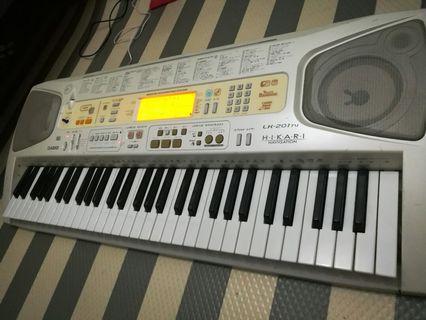 Casio lk 201 piano keyboard