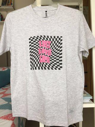 Checkerboard shirt by Lust.