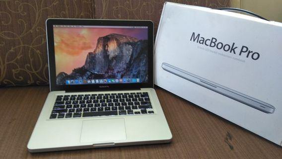 Macbook Pro 13 MD101 core i5 4gb/500gb fullset murah siap pakai