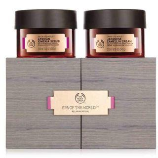 The Body Shop Spa Of The World Relaxing Body Collection RRP$80