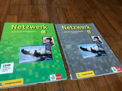 🚚 German textbook + exe book A2 from Goethe institut