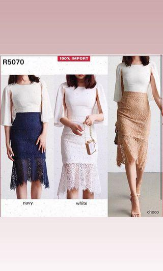 Lace Skirt R5070