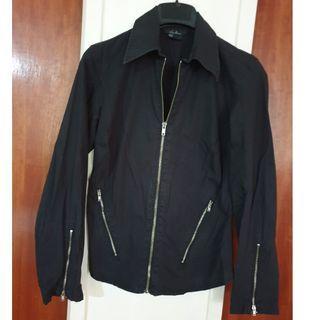 Black Zipped Jacket #EndgameYourExcess