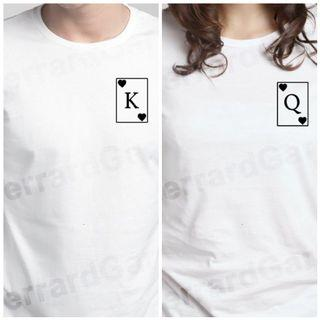 King & Queen Of Hearts T-Shirt