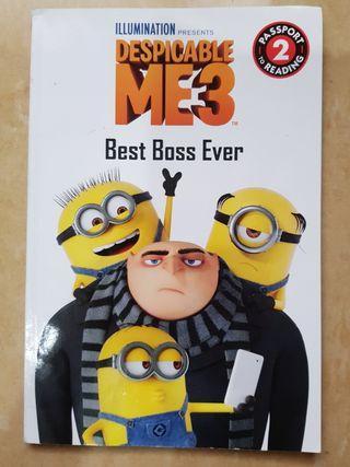 Despicable Me. Best Boss Ever. Minion. Reading Level 2. Buku cerita
