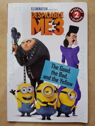 Buku Cerita Despicable Me. The Good The Bad and The Yellow. Reading Level 2