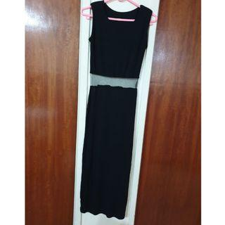 Black Evening Dress #EndgameYourExcess