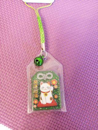 日本招財猫開運招福吊飾
