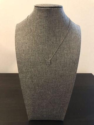 Chevon Necklace
