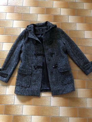 Black and White Coat