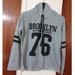 Brooklyn NY Grey Pullover Hoodie #EndgameYourExcess