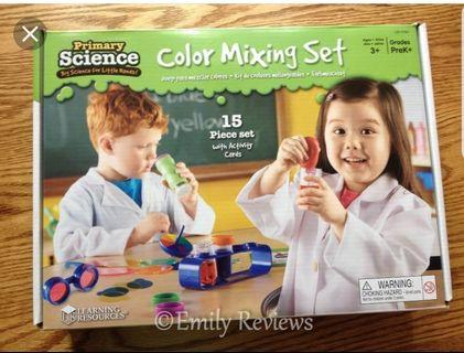 🚚 Learning Resources Primary Science Color Mixing Set #EndGameYourExcess