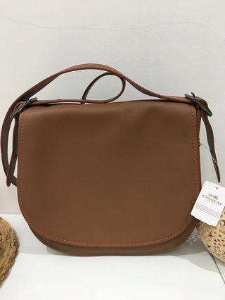 ORI COACH Saddle Bag
