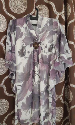 Dress Bunga #bapau / dres midi / dres santai / dres cantik / free ongkir