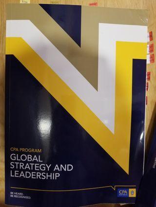 CPA Australia Global Strategy and leadership