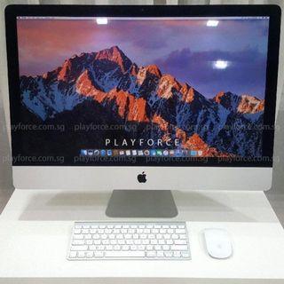 "iMac 2012 27"" - Apple iMac Late 2012 27-inch i5 8GB GTX 675M 1TB"