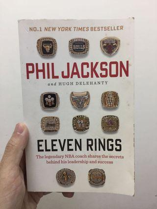 Eleven Rings: The Soul of Success by Phil Jackson