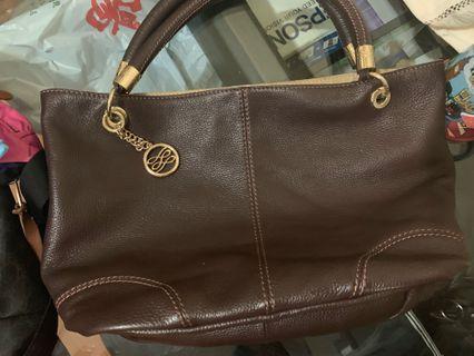 Lancel Paris Brown Bag 袋