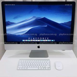 "iMac 2013 27"" - Apple iMac 27-inch Late 2013 i5 8GB 1TB"