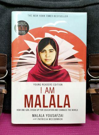 《New Book Condition + Preloved Hardcover + Young Reader Edition》I AM MALALA - How One Girl Stood Up for Education and Changed the World (JILL)