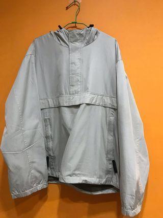 UQ衝鋒衣 半拉鍊外套
