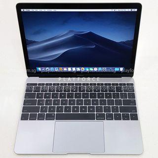 """MacBook 2017 12""""/256GB - Apple MacBook 12 256GB Space Grey"""
