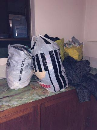 Bundle Bags of Clothes