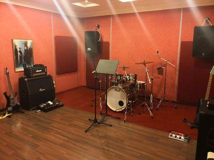 Instruments And Studio Rental