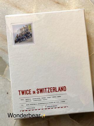 Twice TV5: Twice in Switzerland Photobook (Sealed)