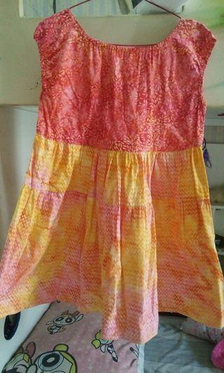 Dress Batik anak/remaja