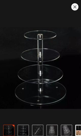 Cake stand 4 tier tower