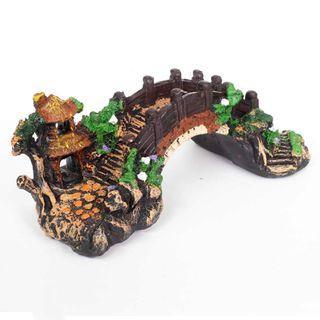 Bridge Landscape Ornament for Aquarium Fish Tank Decoration