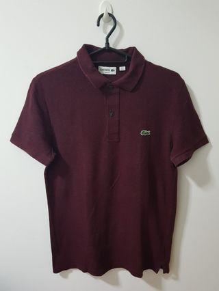 Authentic Lacoste Slim Fit Shirt Size Small