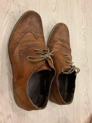 (USED)Leather cover shoe