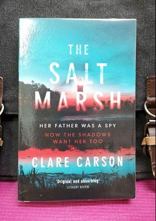 # Novel《BRAN-NEW ! Suspenseful Mystery Thriller Fiction》Clare Carson - THE SALT MARSH : Her Father Was A Spy Now The Shadows Want Her Too (Sam Coyle Trilogy)