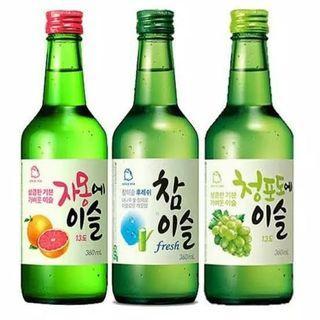 Soju original & grapefruite