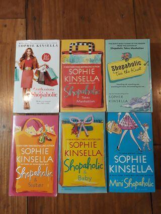 [PRE-LOVED] Shopaholic Series by Sophie Kinsella Books 1-6
