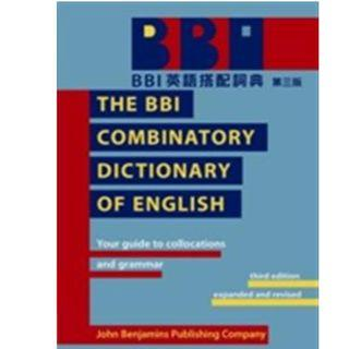 🚚 BBI 英語搭配辭典 第三版 The combinatory sictionary of english
