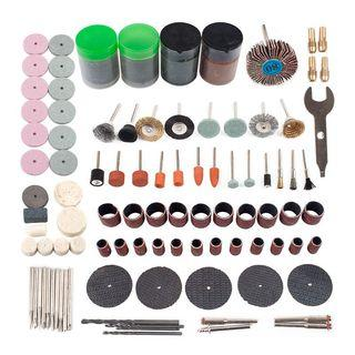 161Pcs Mini Drill Multi Rotary Tool Accessories Set Grinding Polishing Kits For Micro-Dril